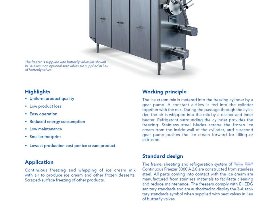 凝冻机设备说明文档 - 来自金雨项目